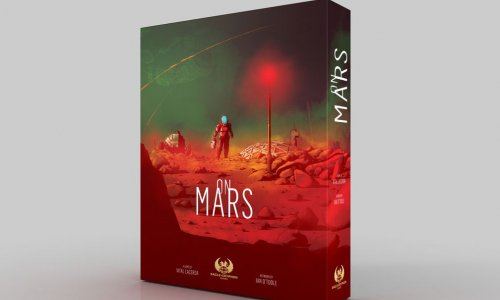 ON MARS // Deutsche Version erscheint bei Skellig Games