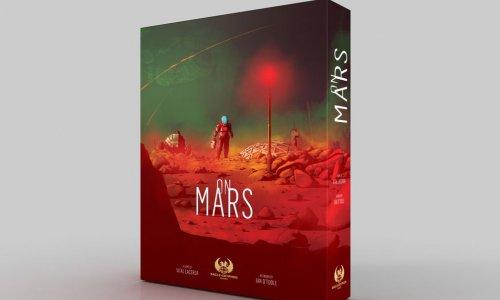 ON MARS // Deutsche Version auf Kickstarter verfügbar
