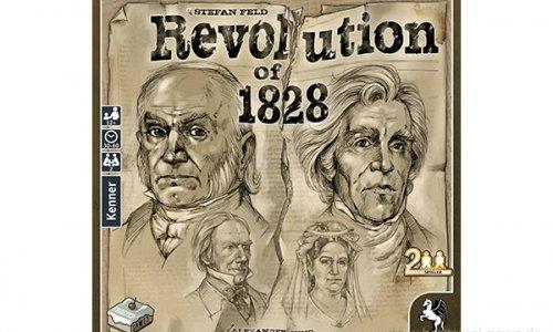 REVOLUTION OF 1828 // Spiel von Stefan Feld bald im Handel