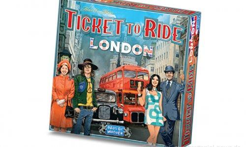 TICKET TO RIDE: LONDON // Neuheit der Zug um Zug Serie