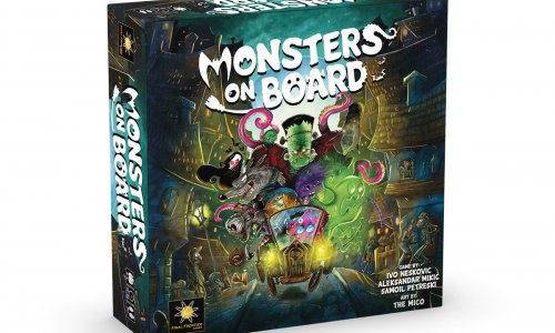 KICKSTARTER // Monsters on Board von Final Frontier Games finanziert