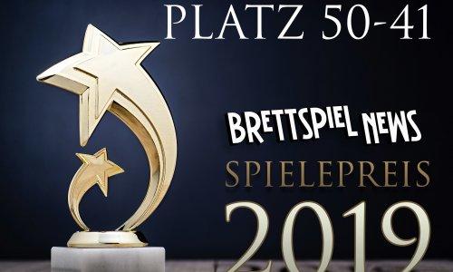 BRETTSPIEL-NEWS SPIELEPREIS 2019 // PLATZ 50-49