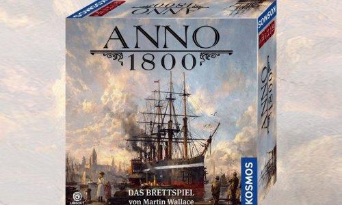 ANNO 1800 // Brettspiel von Martin Wallace erscheint 2020