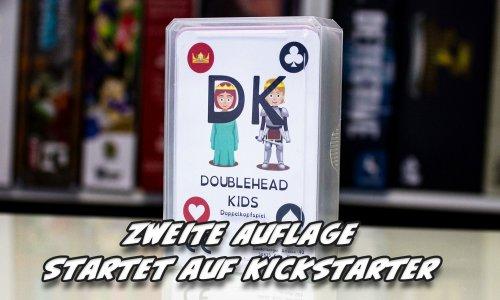 DOUBLEHEAD KIDS // 2. Auflage startet auf Kickstarter