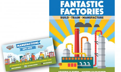 KICKSTARTER  // Fantastic Factories Manufactions startet am 29. September