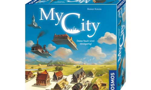 MY CITY // Legacy-Spiel von Reiner Knizia