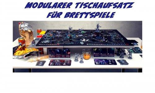 KICKSTARTER // AdapTableTop - modularer Tischaufsatz für Brettspiele