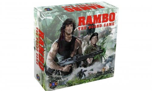 RAMBO: THE BOARD GAME // jetzt vorbestellbar