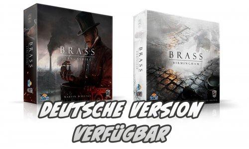 BRASS // deutsche Versionen jetzt verfügbar