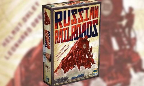 RUSSIAN RAILROADS // Solo Modus und neue Lok als print & play