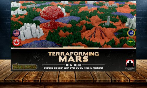 TERRAFORMING MARS // BIG BOX angekündigt