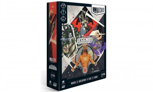 UNMATCHED: BATTLE OF LEGENDS – VOLUME ONE // erscheint bei iello