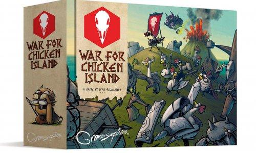 WAR FOR CHICKEN ISLAND // jetzt vorbestellen