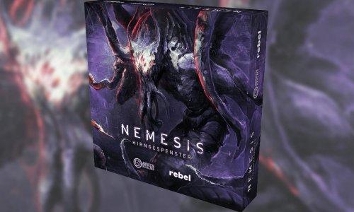 NEMESIS – HIRNGESPENSTER // Bald im Handel