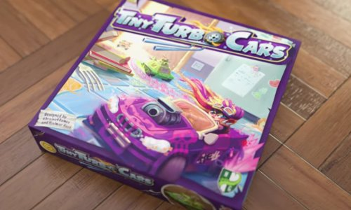 CASTLE TRICON // TINY TURBO CARS