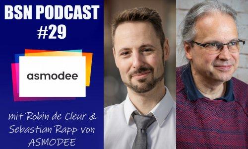 BSN PODCAST # 29 // mit Robin & Sebastian von ASMODEE