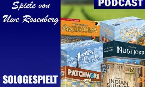 BSN SOLOGESPIELT #2 // Spiele von Uwe Rosenberg