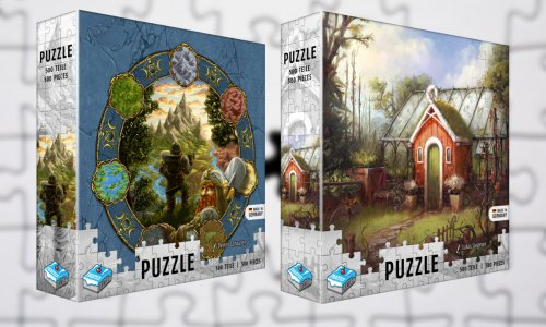 FROSTED GAMES PUZZLE // in der Spieleschmiede
