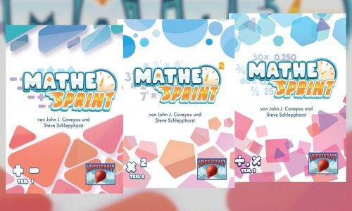 MATHE-SPRINT Spiele // bei SCHWERKRAFT erschienen