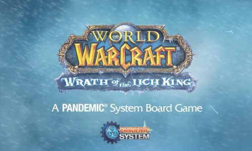 WORLD OF WARCRAFT: WRATH OF THE LICH KING // Brettspiel mit PANDEMIC-Mechanik
