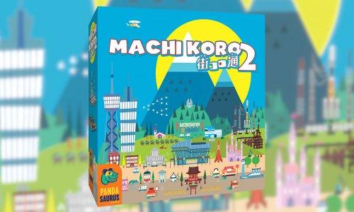 MACHI KORO 2 // auf englisch bei PANDASAURUS GAMES