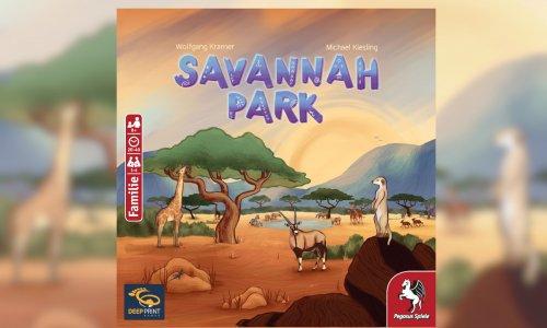 SAVANNAH PARK // Neuheit von DEEP PRINT GAMES