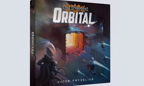 STAR SCRAPPERS: ORBITAL // auf Kickstarter