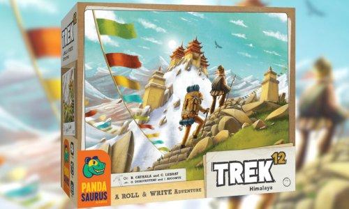 TREK 12 // Roll&Write bei PANDASAURUS GAMES