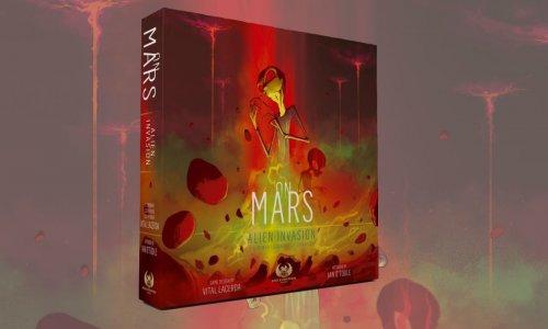 ON MARS: ALIEN INVASION // Erweiterung nun auf Kickstarter