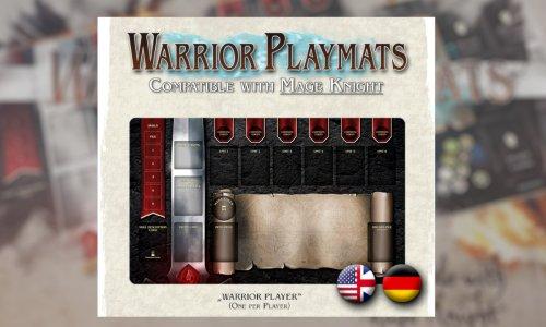 KICKSTARTER // Warrior Playmats für Mage Knight