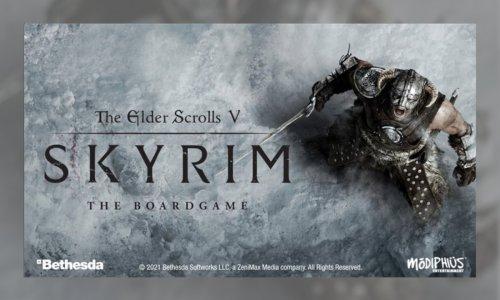 THE ELDER SCROLLS V SKYRIM THE BOARDGAME // erstes Update zur Kampagne auf Gamefound