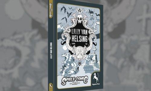 LILLY VAN HELSING // weiterer Spiele-Comic erschienen