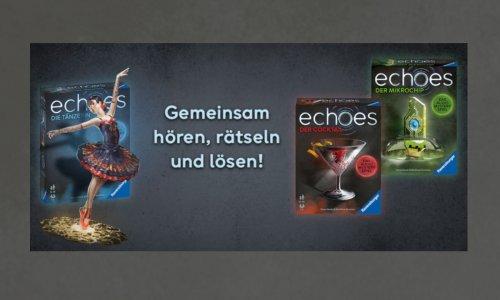 ECHOES Audio Mystery Spiele // bis Ende August exklusiv bei Thalia erhältlich