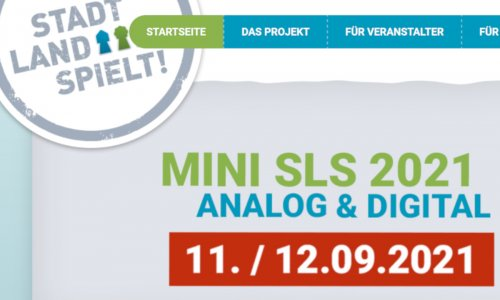 STADT-LAND-SPIELT! 2021 // Tage des Gesellschaftsspiels am 11./12. September