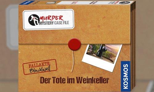 MURDER MYSTERY CASE FILE - DER TOTE IM WEINKELLER // Ab Oktober erhältlich