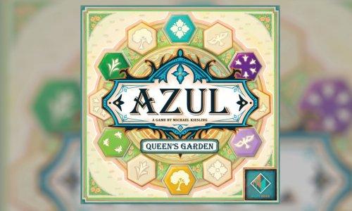 AZUL: QUEEN'S GARDEN // Neue Azul Variante zur Spiel 21 angekündigt