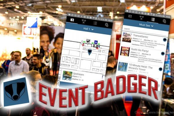 SPIEL'19 // Event Badger APP Update verfügbar