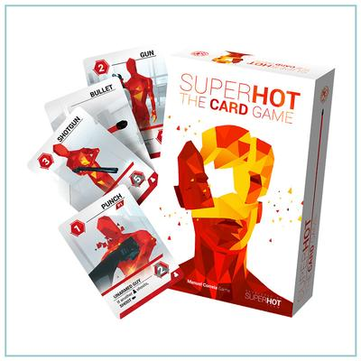 Superhot - The card game ist vorbestellbar